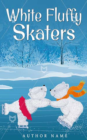 Children-book-cover-White-Skaters-kids