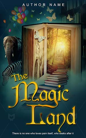Adventures-book-cover-magic-fairytale-land