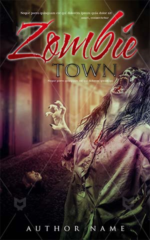 Children-book-cover-killer-zombie-town-scary