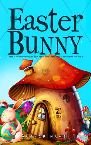 Children-book-cover-easter-cartoon-bunny