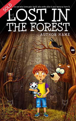 Children-book-cover-forest-kids-book