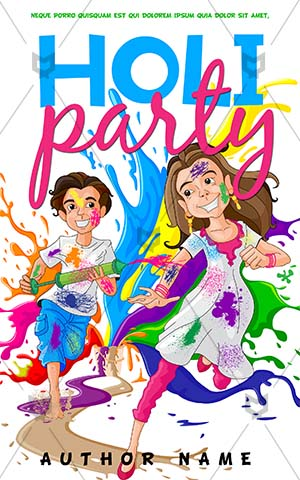 Children-book-cover-holi-kids-play-colors