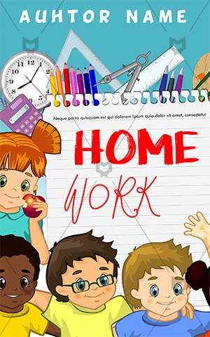 Children-book-cover-education-kids-school-work
