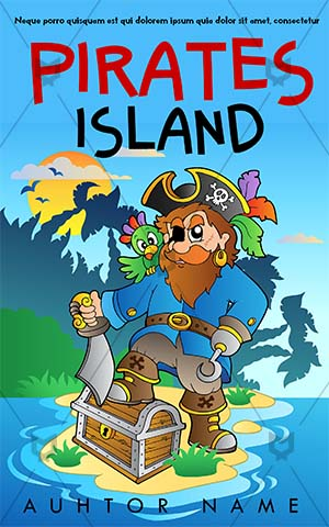 Children-book-cover-sea-caption-treasure-island-kids-story