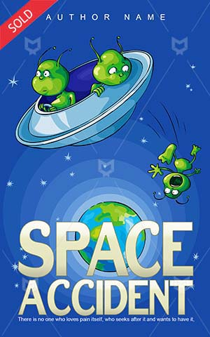 Children-book-cover-accident-kids-space
