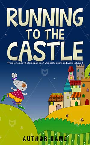 Children-book-cover-running-castle-bunny