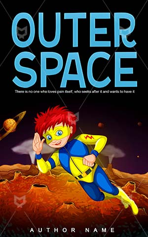 Children-book-cover-outer-kids-space