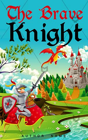 Children-book-cover-knight-brave-kids