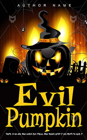 Children-book-cover-evil-pumpkin-kids