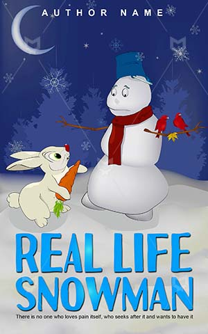 Children-book-cover-snowman-life-bunny