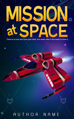 Children-book-cover-mission-space-spaceship