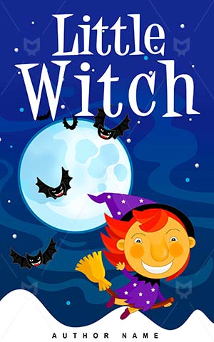 Children-book-cover-little-halloween-witch