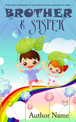Children-book-cover-playing-school-kids-children