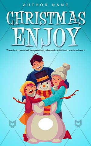 Children-book-cover-snow-kids-christmas