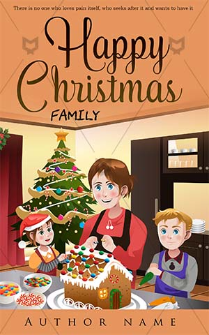 Children-book-cover-Christmas-family-kids-mother