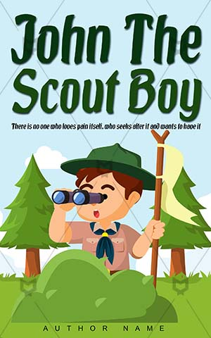 Children-book-cover-john-scout-boy
