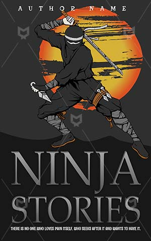Children-book-cover-ninja-stories-kids