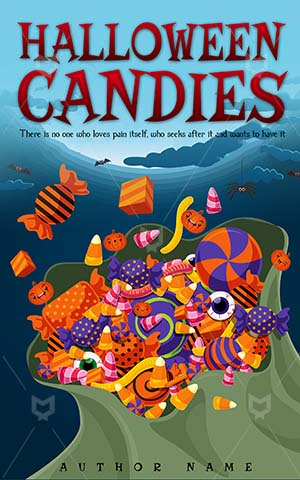 Children-book-cover-halloween-kids-candies