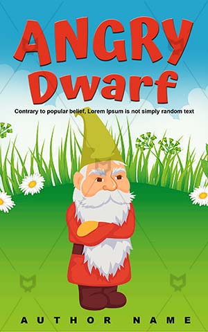 Children-book-cover-Angry-Dwarf-Gnome-Kids-coloring-Fairy-tale-Vector-books-design-Garden-Toy