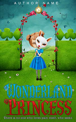 Children-book-cover-Wonderland-Girl-Imagination-story-Fantasy-covers-for-kids-Little-girl-Mask