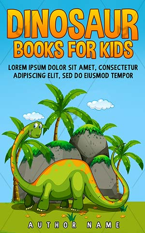 Children-book-cover-Clipart-Dinosaur-Book-for-kids-Wild-Animal-Jungle-Extinct-covers-Vector-Wildlife-Mammal