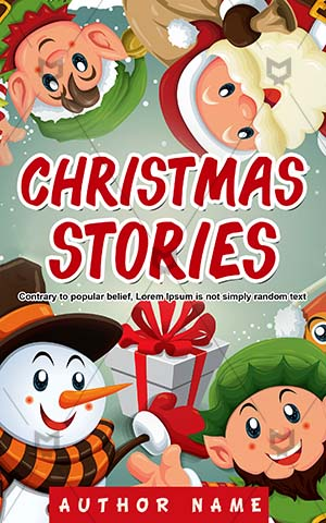 Children-book-cover-Design-Christmas-Santa-clause-Premade-christmas-covers-Stories-Smile-Snow-Story-for-kids-Elf
