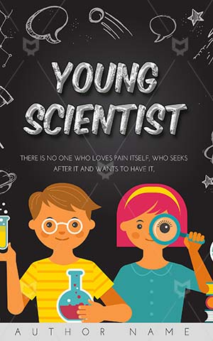 Children-book-cover-Education-Kids-Book-Science