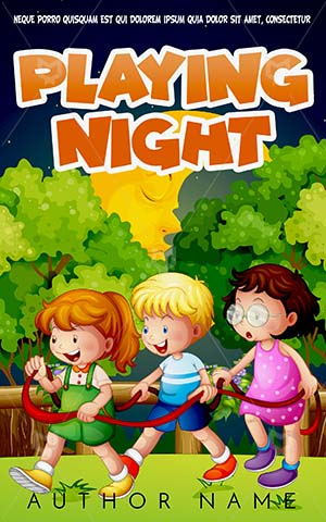 Children-book-cover-Kids-Book-Cover-Story-Playing-Time-Night-Camp-Design-Ideas-Covers
