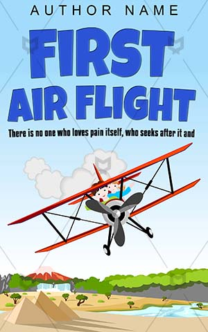 Children-book-cover-Kids-Flight-Child-Plane-Biplane-designs-People-Joy-Air-Flying-Journey-Adventure