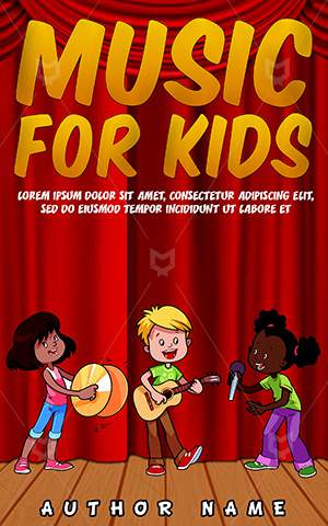 Children-book-cover-Kids-singing-cartoon-Singing-kids-Teenager-Entertainment-Clipart-Kid-clip-art