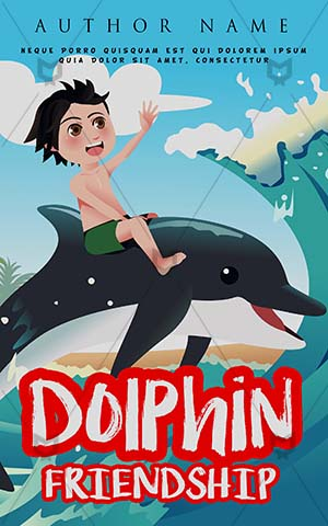 Children-book-cover-Kids-Story-Book-Covers-Dolphin-Playing-Sea-Cover-Ideas-for-School-Play