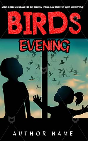 Children-book-cover-Kids-Story-Book-Covers-Ideas-Birds-Watching-Bird-watching-Silhouette-Window