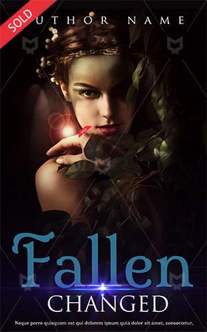 Fantasy-book-cover-flower-girl-princess-scary