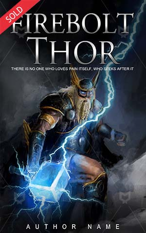 Fantasy-book-cover-thor-lightning-hammer