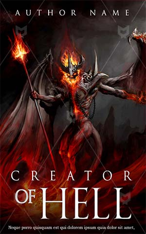 Fantasy-book-cover-scary-horror-hell-fire
