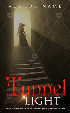 Fantasy-book-cover-angel-ghost-tunnel-scary