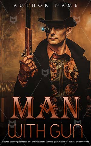 Fantasy-book-cover-man-scary-fiction-gun-agent