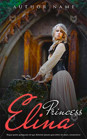 Fantasy-book-cover-alone-princess-love-romance