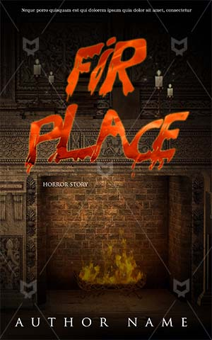 Fantasy-book-cover-fire-story-home-horror-scary