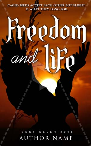 Nonfiction-book-cover-freedom-life-eagle