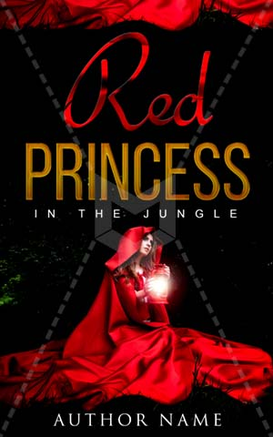 Fantasy-book-cover-red-forest-riding-hood-princess