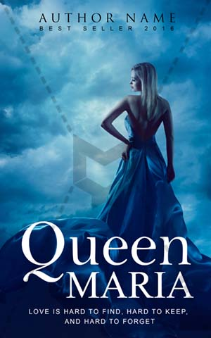 Fantasy-book-cover-blue-frock-sky-angel
