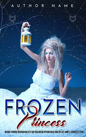 Fantasy-book-cover-Angel-Lantern-Snow-Kids-Angle-Story-Book-fantasy-Covers-Frozen-Christmas-Beautiful-Princess