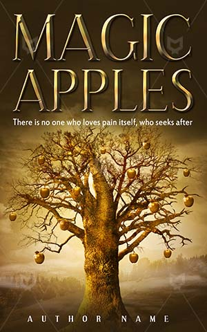 Fantasy-book-cover-Apple-Golden-Magic-tree-Book-covers-with-trees-apples-Darkness-Way-Organic-Wood-Food-Fruit-Dark-Dreamy-Fairytale