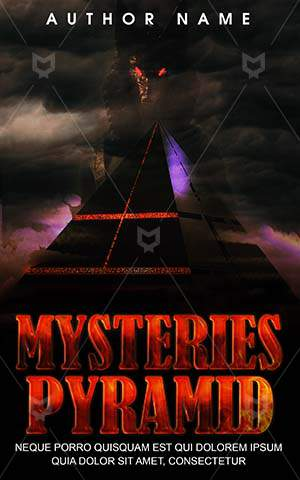 Thrillers-book-cover-Art-Futuristic-Pyramid-Horror-Black-pyramid-Illustrator-Mystery-Thriller-Mysteries-Scary