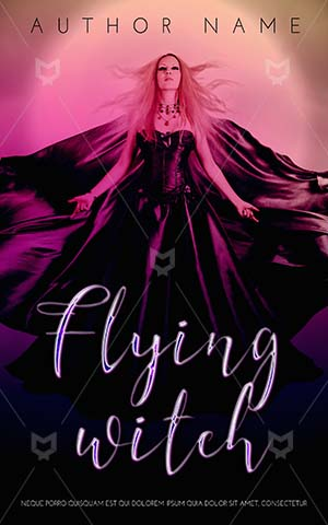 Fantasy-book-cover-Beautiful-Flying-Woman-Halloween-Witch-Girl-Young-Beauty-Wind-Magic-Fantastic-Long-Lady-Moon-Evil-Dress