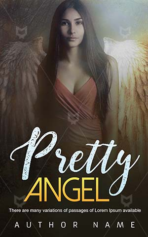 Fantasy-book-cover-Brunette-Pretty-Archangel-covers-Woman-Beautiful-Angel-Girl