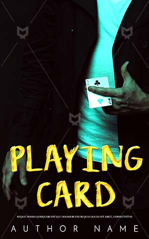 Fantasy-book-cover-Playing-card-Game-Book-Cover-Design-Magician-Gambling-Agent-Mission