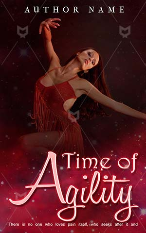 Fantasy-book-cover-Red-Beautiful-Bright-Girl-Premade-fantasy-covers-Expression-Pretty-Woman-Dance