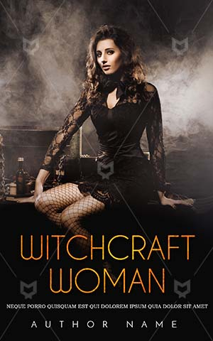 Fantasy-book-cover-Scary-Bool-Cover-Witch-Book-Design-Alone-Woman-Premade-Covers-Dark